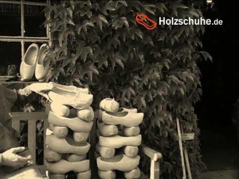 Holzschuhe - Herstellung früher und heute